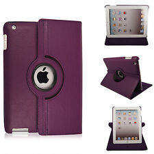 Leather 360 Degree Rotating Smart Stand Case Cover For APPLE iPad 9.7 (2018)