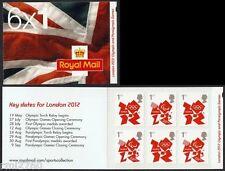 2012 fechas clave Juegos Olímpicos de Londres definitivo folleto 6 X 1 ª clase non Cyl Mb10