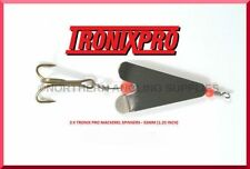 20 x Tronixpro Mackerel Spinners - 32mm (1.25 inch) - Sea fishing - Lure fishing
