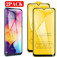 2Pcs Tempered Glass Screen Protector Film For Samsung Galaxy A50 A70 A40 A30