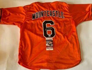 Ryan Mountcastle Autographed Baltimore Orioles Orange Jersey JSA Witnessed COA