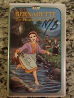 Bernadette The Princess Of Lourdes VHS VCR Tape Movie Animation Used
