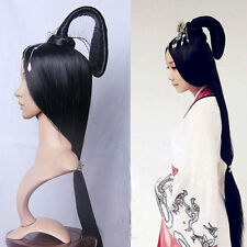 Chinese ancient custom Archaic traditional Hairpiece cosplay show Whole hair Wig