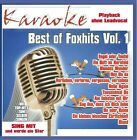 KARAOKE CD: BEST OF FOXHITS Vol.1 u.a. BLOND * EIN BETT IM KORNFELD * NEU & OVP