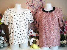 "Lot vêtements occasion femme - Hauts / Blouses ""Promod - Lili & Lala"" - T: 40/42"