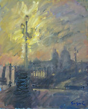 Pierre Gogois entre Impressionnisme et Expressionnisme Superbe Touche ***Signée