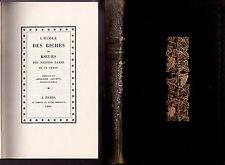 """1960 - MILLOT """"L'ÉCOLE DES BICHES"""" - PRÉFACE ADOLPHE GOUBIN - No 3274/3500"""
