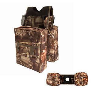 High Quality Camo ATV Water-Resistant with Cup Holder Saddle Storage Bag