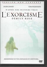 DVD ZONE 2--L'EXORCISME D'EMILY ROSE - VERSION NON CENSUREE--LINNEY/WILKINSON-