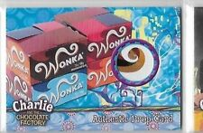 CHARLIE & THE CHOCOLATE FACTORY WONKA DISPLAY BOX PROP CARD 241 of 290