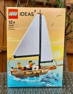 LEGO IDEAS ~ 40487 ~ SAILBOAT ADVENTURE ~ 2021 PROMO SET ~ BRAND NEW!