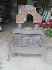 RARE antique cast iron FANCY Parlor wood Stove SELL a PART or WHOLE