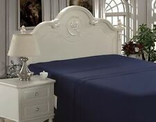 Bamboo Living Rayon from Bamboo Comfort and Soft Flat Sheet (10 Colors, All Size