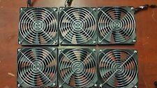 Lot of Six Lian Li LI121225SL-4 3Pin Case Cooling Fan 120mm x 25mm