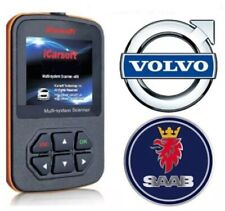 VOLVO & SAAB PROFESSIONAL DIAGNOSTIC SCANNER TOOL CODE READER ABS + SRS AIRBAG