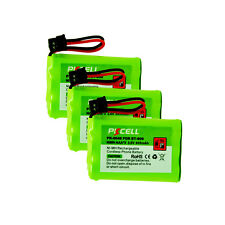 3 x Cordless Phone Battery Replacement NI-MH AAA*3 800mAh 3.6V for Uniden BT-909