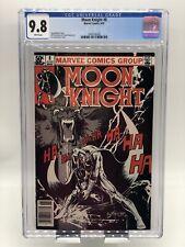 Moon Knight #8 CGC 9.8 WP NEWSSTAND EDITION (1981) Bill Sienkiewicz Cover