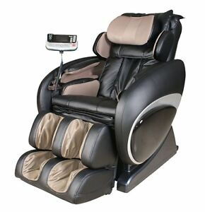 Osaki OS-4000T Black Executive Zero Gravity Massage Chair Recliner Foot Rollers
