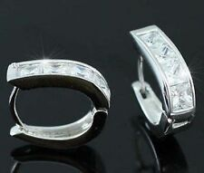 Huggie White Gold Earrings & Studs for Men