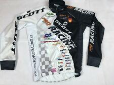Eleven Bike Pro Racing Team MTB Cycling Jersey Men's Size XS SCOTT Long Sleeve