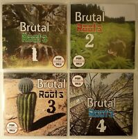 'Brutal Roots' Volumes 1-4 JUMBO Pack Modern Roots Reggae Collection (4CDs)