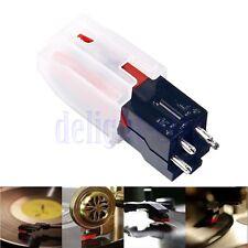 Turntable Phono Ceramic Cartridge W/ Stylus Needle For LP Vinyl Record Player DG