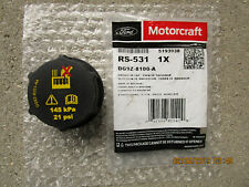 FORD LINCOLN DG9Z-81001A MOTORCRAFT RS-531 RADIATOR ENGINE COOLANT FLUID CAP NEW