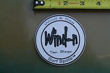 Wind N Sea San Diego Surf Spots California Rare V22a Vintage Surfing Sticker