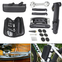 16 in 1 Bicycle Tyre Bike Repair Kit Pump Patch Lever Wrench Maintenance Tool