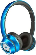 Monster N-Tune NCredible On Ear Wired Headphones - Blue/Gray