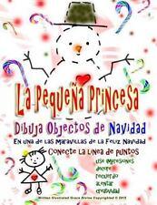 La Pequeña Princesa Dibuja Objetos de Navidad Feliz Navidad Conecte la línea...