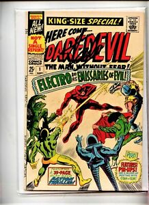 DAREDEVIL ANNUAL #1  MARVEL COMIC  Signed by Stan Lee w Numbered COA & Seal