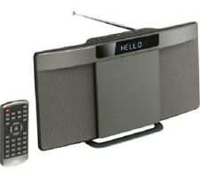 JVC wireless a schermo piatto sistema Hi-Fi Lettore CD DAB Bluetooth Wireless Altoparlante