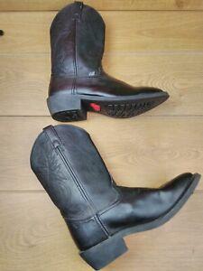 Men's Justin Cowboy Boots US 10 UK 9