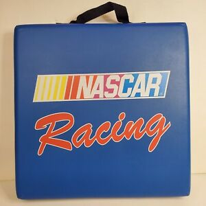 Vintage Nascar Racing Seat Cushion Blue