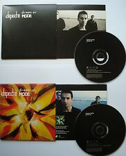 2 x MCD __  DREAM ON  //  EASY TIGER  __  DEPECHE MODE __ 7 Tracks on two MCD `s