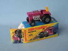 Lesney Matchbox Superfast 25 Mod Tractor Boxed Farm Farming Toy Model