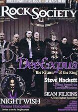 DEEXPUS / NIGHTWISH / STEVE HACKETRock Society Prog Magazineno.187Jan2012