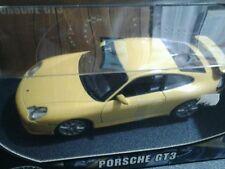 Porsche gt3  1/18  gialla hot wheels  nuova ancora sigillata mai esposta