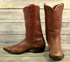 Nocona Cowboy Boots Mens Size 10 B Narrow Vintage Country Western Rockabilly