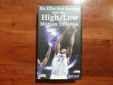 Six Effective Entries into the High/Low Motion Offense Bill Self Basketball Vhs
