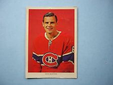1963/65 CHEX CEREAL NHL HOCKEY PHOTO RALPH BACKSTROM MONTREAL CANADIENS SHARP!!
