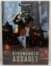 WARHAMMER 40K STRONGHOLD ASSAULT EXPANSION SUPPLEMENT SCENARIOS HARD-COVER BOOK
