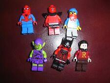 lego lot de figurines marvel et divers