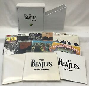 The Beatles In Mono On CD 10 Albums 13 Disc Box Set 2009 Digitally Remastered