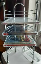 CD Metal Rack / Stand Holds 15 CDs - music, shelf