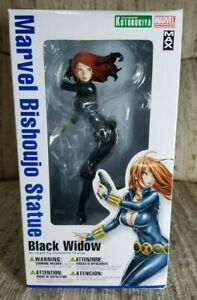 Marvel Bishoujo Statue Black Widow 1/8 Figure Kotobukiya 1st Edition, New Sealed