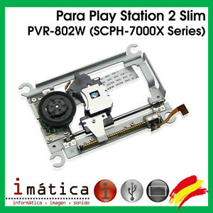 LENTE PARA PS2 SONY PLAY STATION 2 SLIM 70000 7000X SERIES CARRO LASER LECTOR