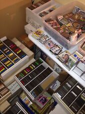 Huge Lot of 1,000's Baseball,Football,Basketball 1950's-2000 Read ! Free Ship !