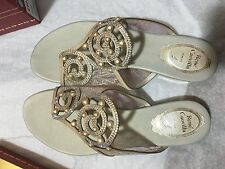 Rene Caovilla sandals/flats/formalwear/wedding wear/evening wear